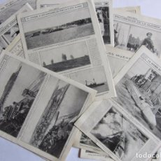Militaria: LOTE DE 20 PÁGINAS DE MUNDO GRAFICO 1915 I GUERRA MUNDIAL. FOTOGRAFIAS. MUY INTERESANTE.. Lote 64928739