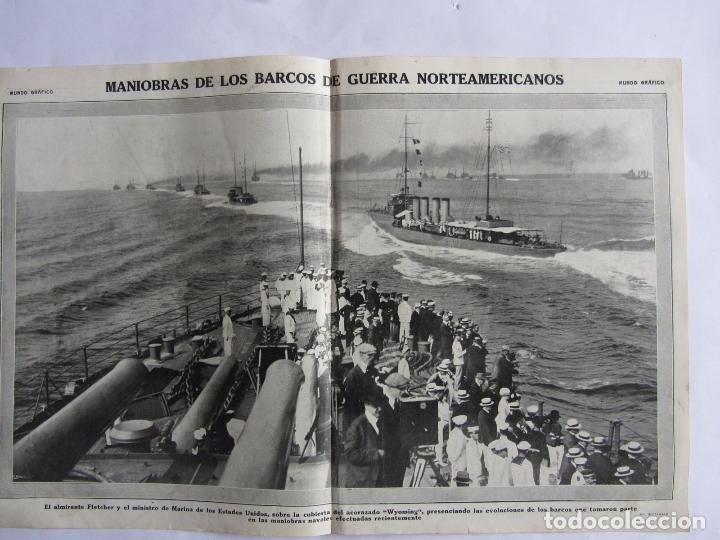 Militaria: Lote de 20 páginas de Mundo Grafico 1915 I Guerra Mundial. Fotografias. Muy Interesante. - Foto 9 - 64928739