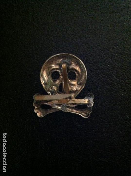 Militaria: CALAVERA (totenkopf) PARA GORRO DE TROPA REGIMIENTO INFANTERIA BRAUNSCHWEIG Nº92 - WWI - 1900 - Foto 2 - 65896234