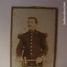 Militaria: FOTOGRAFIA MILITAR MUY ANTIGUA 1890. Lote 72735843