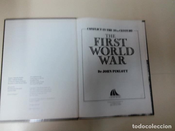 Militaria: LOTE 2 TOMOS-THE FIRST WORLD WAR-THE SECOND WORLD WAR-JOHN PIMLOTT/CHARLES MESSENGER-TAPA DURA - Foto 2 - 73186867