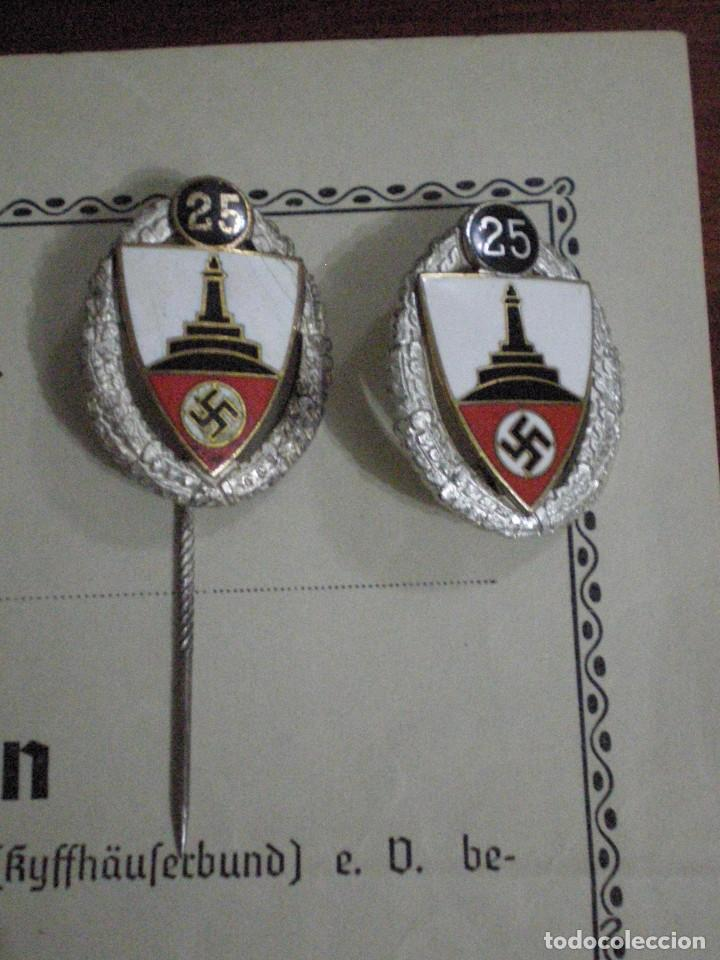 Militaria: CONJUNTO CONCESIONES MEDALLAS INSIGNIAS FOTOGRAFIAS SOLDADO ALEMAN Reichskriegerbund Kyffhauserbund - Foto 3 - 74747411