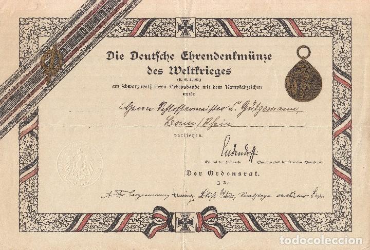 Militaria: CONJUNTO CONCESIONES MEDALLAS INSIGNIAS FOTOGRAFIAS SOLDADO ALEMAN Reichskriegerbund Kyffhauserbund - Foto 7 - 74747411