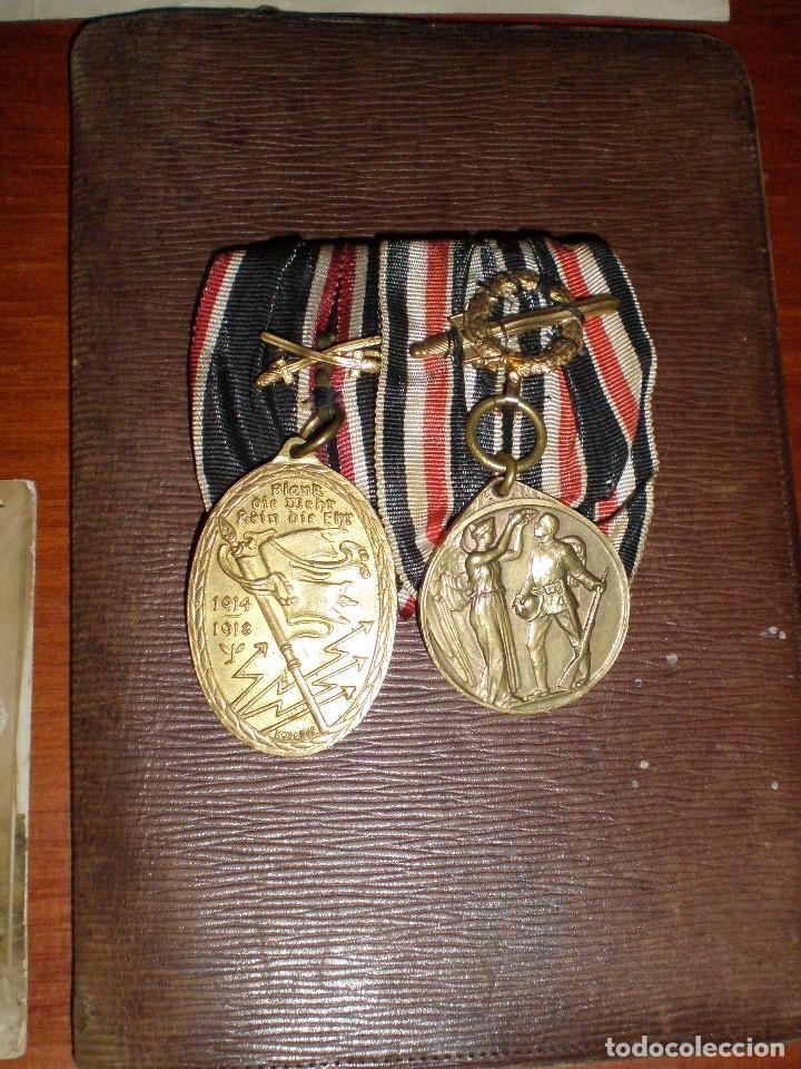 Militaria: CONJUNTO CONCESIONES MEDALLAS INSIGNIAS FOTOGRAFIAS SOLDADO ALEMAN Reichskriegerbund Kyffhauserbund - Foto 8 - 74747411
