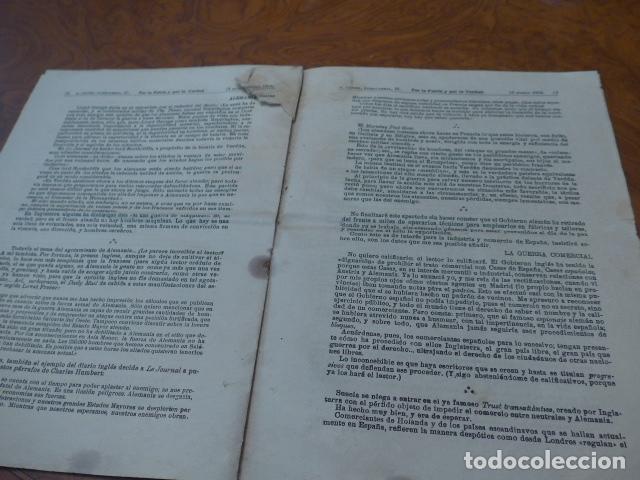 Militaria: * Antiguo librito por la patria y la verdad, original, I guerra mundial. ZX - Foto 3 - 86342944