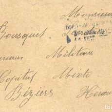 Militaria: SOBRE DE CORREO MILITAR FRANCÉS 1917. Lote 95004691
