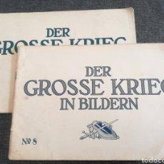 Militaria: LA GRAN GUERRA EN FOTOS - DER GROSSE KRIEG IN BILDERN 7 Y 8 (1915), ALEMANIA, PRIMERA GUERRA MUNDIAL. Lote 98063962