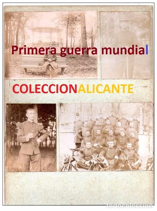 PRIMERA GUERRA MUNDIAL - MILITARES FRANCIA - LOTE TAL FOTO - CARTON (Militar - I Guerra Mundial)