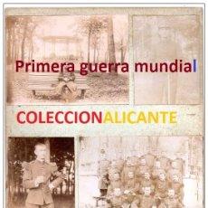 Militaria: PRIMERA GUERRA MUNDIAL - MILITARES FRANCIA - LOTE TAL FOTO - CARTON. Lote 99643447