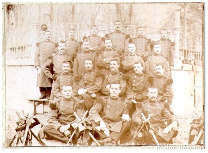 Militaria: PRIMERA GUERRA MUNDIAL - MILITARES FRANCIA - LOTE TAL FOTO - CARTON - Foto 2 - 99643447