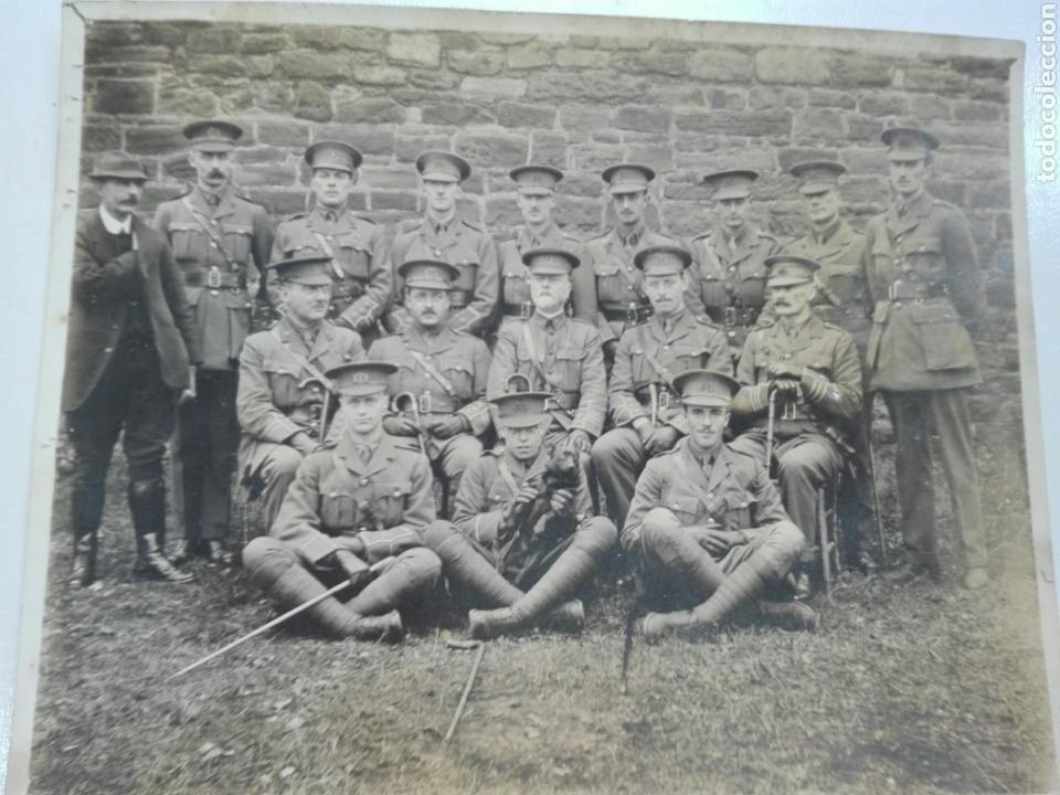 FOTO ANTIGUA DE MILITARES PRIMERA GUERRA MUNDIAL (Militar - I Guerra Mundial)