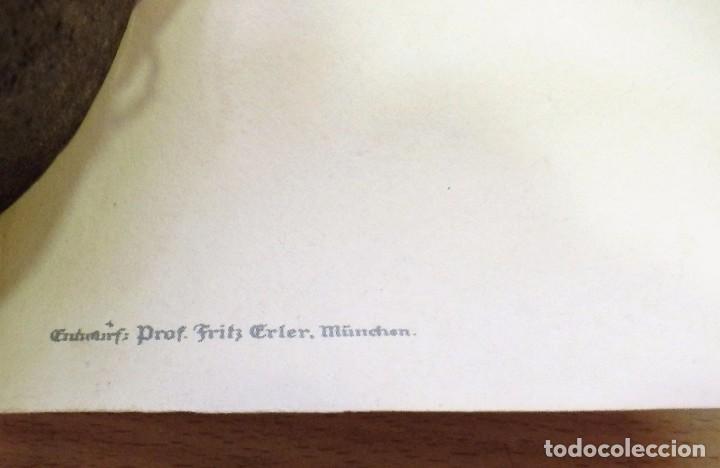 Militaria: CARTEL DE CARTÓN RARO Original 1917 WWI, Heft uns Fiegen Zeichnet die Kriegsanleihe!,por Fritz Erler - Foto 6 - 102344303