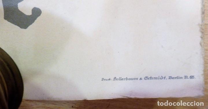 Militaria: CARTEL DE CARTÓN RARO Original 1917 WWI, Heft uns Fiegen Zeichnet die Kriegsanleihe!,por Fritz Erler - Foto 7 - 102344303
