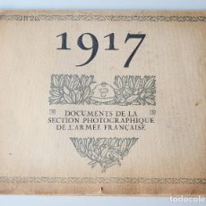 Militaria: 1917 - LIBRO ILUSTRADO CON FOTOGRAFIAS DE LA ARMADA FRANCESA - 1ª GUERRA MUNDIAL - 48 PAGINAS - VER . Lote 103871175