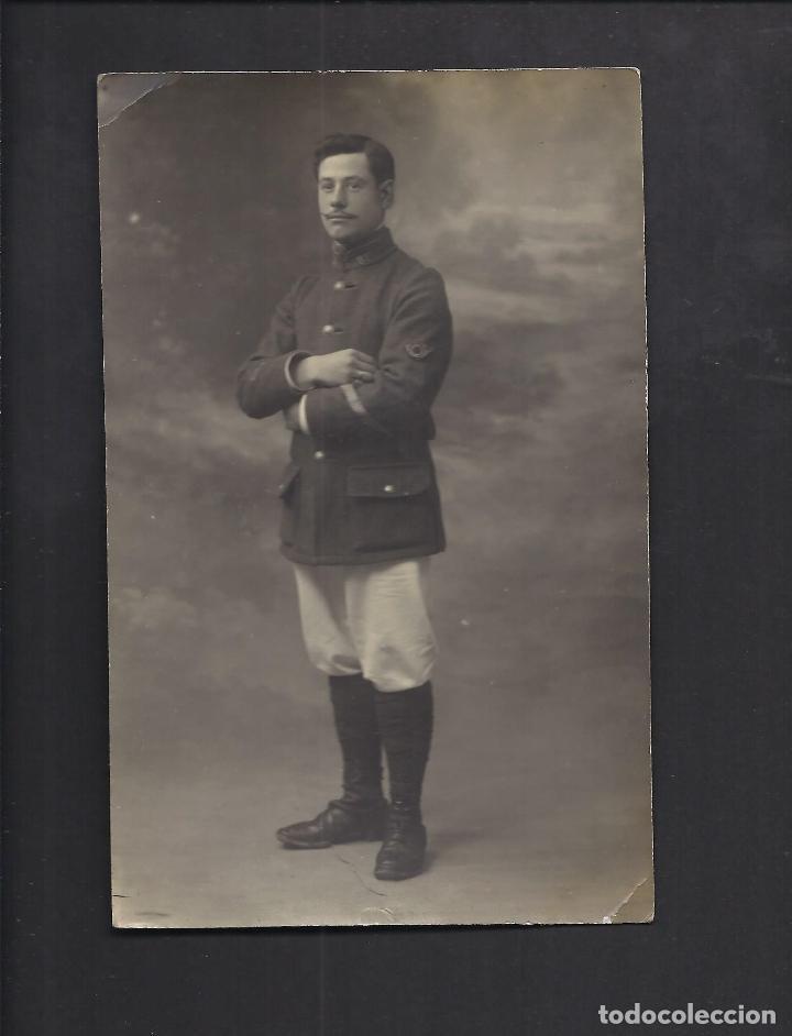 POSTAL FOTOGRÁFICA SOLDADO. I GUERRA MUNDIAL. (Militar - I Guerra Mundial)