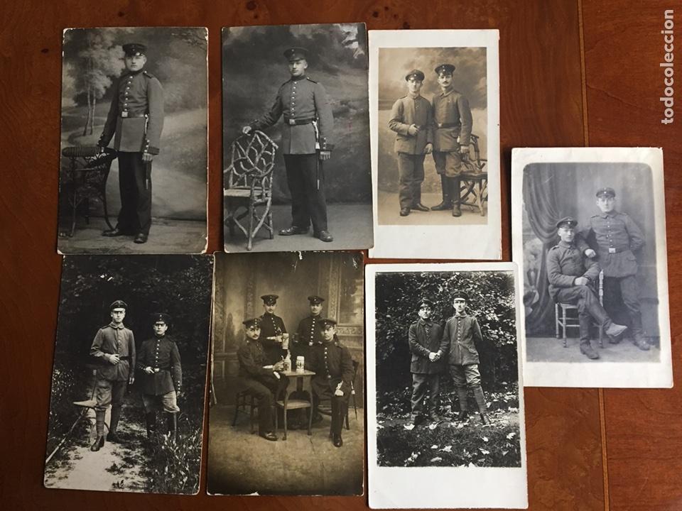 FOTO POSTALES ALEMANA I GM 1917 (Militar - I Guerra Mundial)