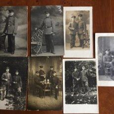 Militaria: FOTO POSTALES ALEMANA I GM 1917. Lote 60366774