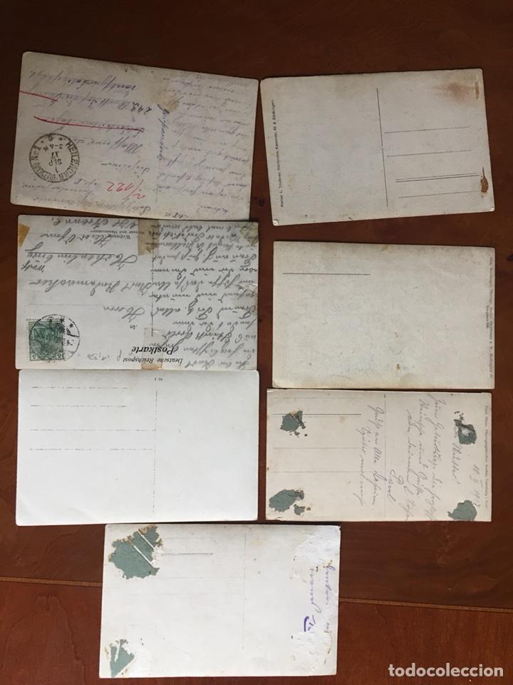 Militaria: Foto postales alemana I GM 1917 - Foto 2 - 60366774