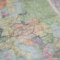 Militaria: CARTES TARIDE 1920 - GRAN PLANO DE EUROPA TRAS LOS TRATADOS DE VERSAILLES Y SAINT GERMAIN IGM. Lote 107110551