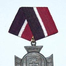 Militaria: MEDALLA DE ASOCIACIÓN DE EX-COMBATIENTES 1ª GUERRA MUNDIAL - KRIEGERVEREIN LANGFUHR 1922. Lote 116703979