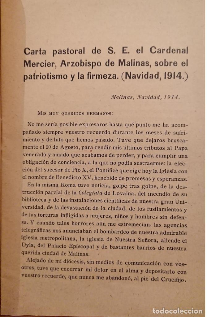 Militaria: PRIMERA GUERRA MUNDIAL,COMITÉ INTERNACIONAL DE PROPAGANDA DEL INSTITUTO FRANCÉS 1915 - Foto 2 - 121190107