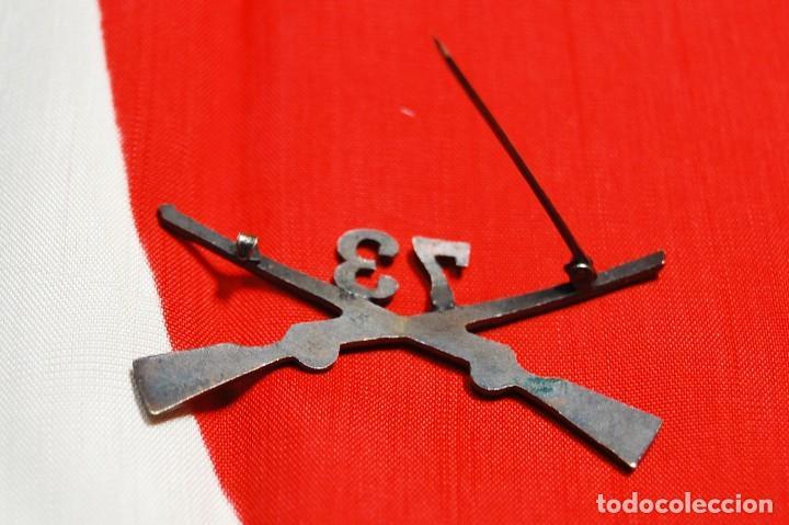 Militaria: INSIGNIA DE CUELLO DE OFICIAL DEL 73 Rgto. DE INFANTERIA DE ESTADOS UNIDOS.SEGUNDA GUERRA MUNDIAL - Foto 4 - 122821463