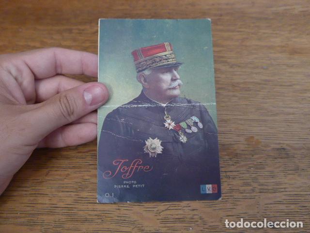 ANTIGUA POSTAL FRANCESA DE JOFFRE DE 1916, ESCRITA, I GUERRA MUNDIAL, ORIGINAL (Militar - I Guerra Mundial)