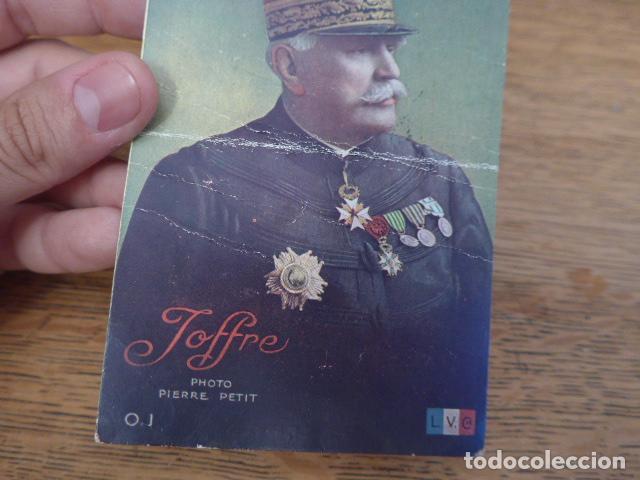 Militaria: Antigua postal francesa de Joffre de 1916, escrita, I guerra mundial, original - Foto 2 - 131406818