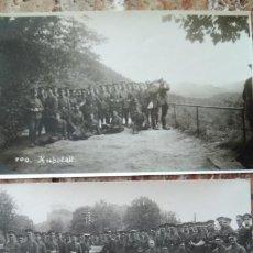 Militaria: FOTO POSTALES 1GM. Lote 134281829