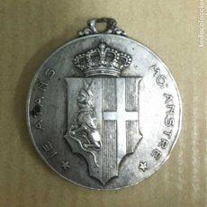 Militaria: MEDALLA ITALIANA CRUCERO CARLO ALBERTO. Lote 137109666