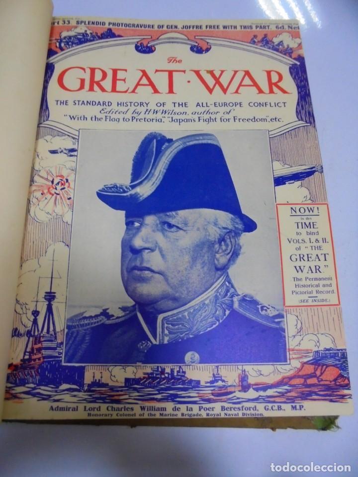Militaria: THE GREAT WAR. 1915. H.W.WILSON. DEL Nº 33 A Nº 45. HISTORIA DEL CONFLICTO DE TODA EUROPA. VER FOTOS - Foto 2 - 149316242