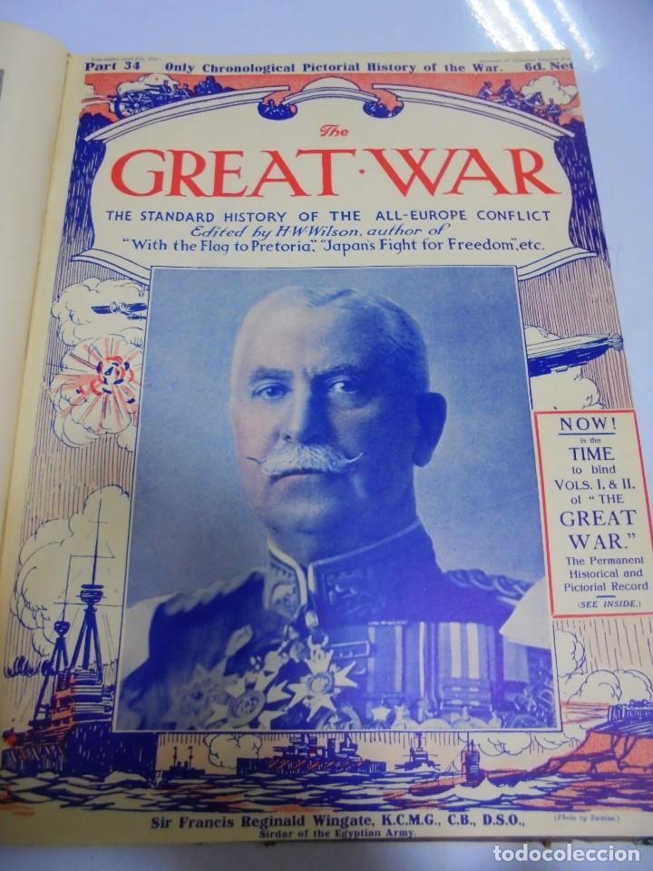 Militaria: THE GREAT WAR. 1915. H.W.WILSON. DEL Nº 33 A Nº 45. HISTORIA DEL CONFLICTO DE TODA EUROPA. VER FOTOS - Foto 3 - 149316242