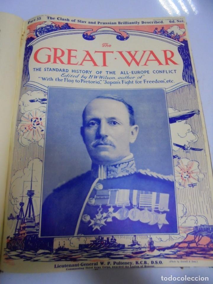 Militaria: THE GREAT WAR. 1915. H.W.WILSON. DEL Nº 33 A Nº 45. HISTORIA DEL CONFLICTO DE TODA EUROPA. VER FOTOS - Foto 4 - 149316242
