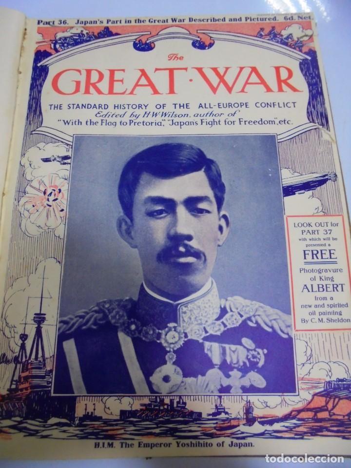 Militaria: THE GREAT WAR. 1915. H.W.WILSON. DEL Nº 33 A Nº 45. HISTORIA DEL CONFLICTO DE TODA EUROPA. VER FOTOS - Foto 5 - 149316242