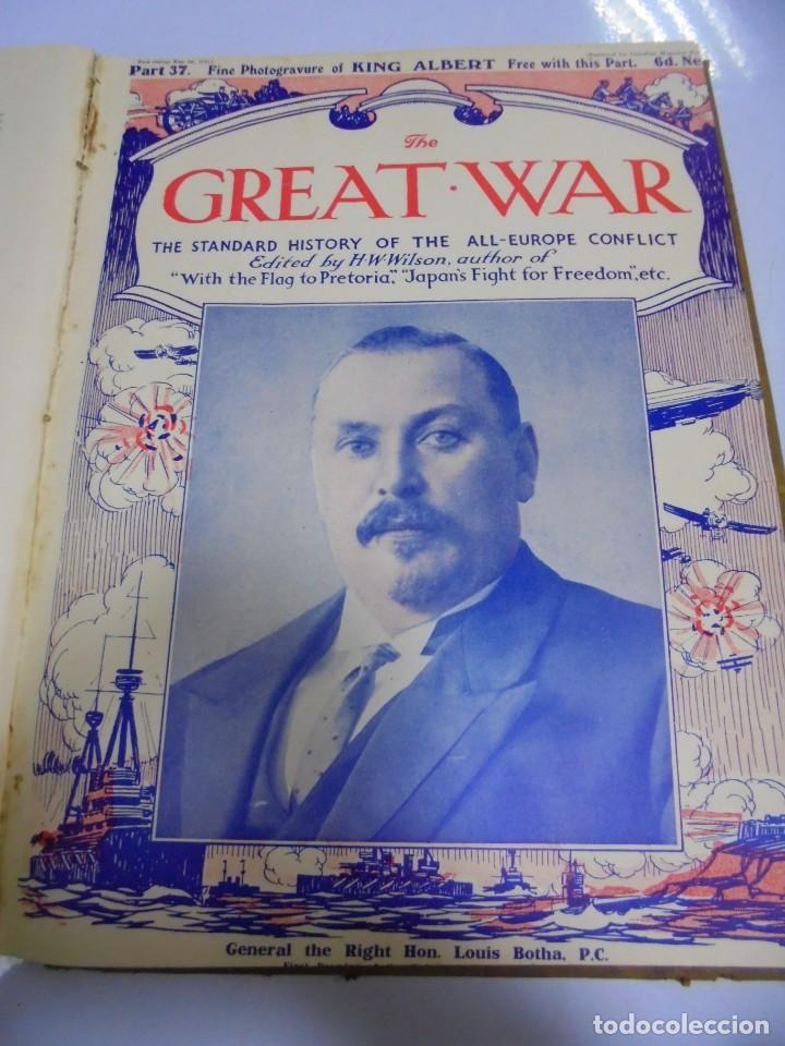 Militaria: THE GREAT WAR. 1915. H.W.WILSON. DEL Nº 33 A Nº 45. HISTORIA DEL CONFLICTO DE TODA EUROPA. VER FOTOS - Foto 6 - 149316242