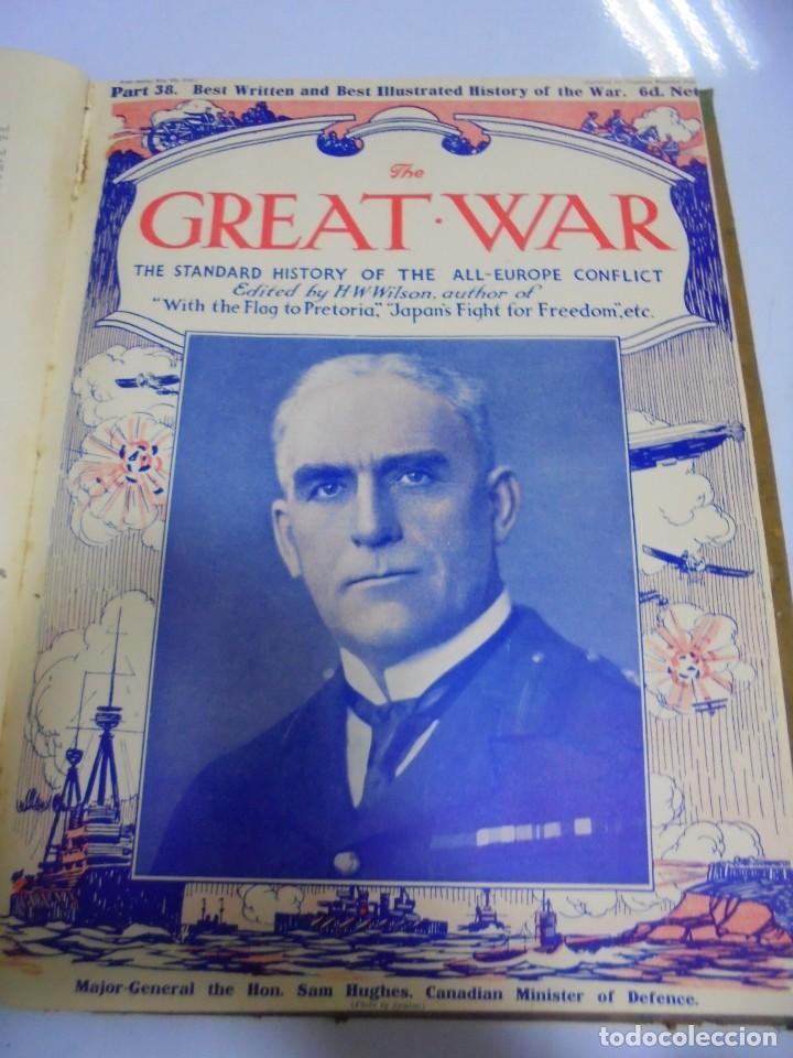 Militaria: THE GREAT WAR. 1915. H.W.WILSON. DEL Nº 33 A Nº 45. HISTORIA DEL CONFLICTO DE TODA EUROPA. VER FOTOS - Foto 7 - 149316242