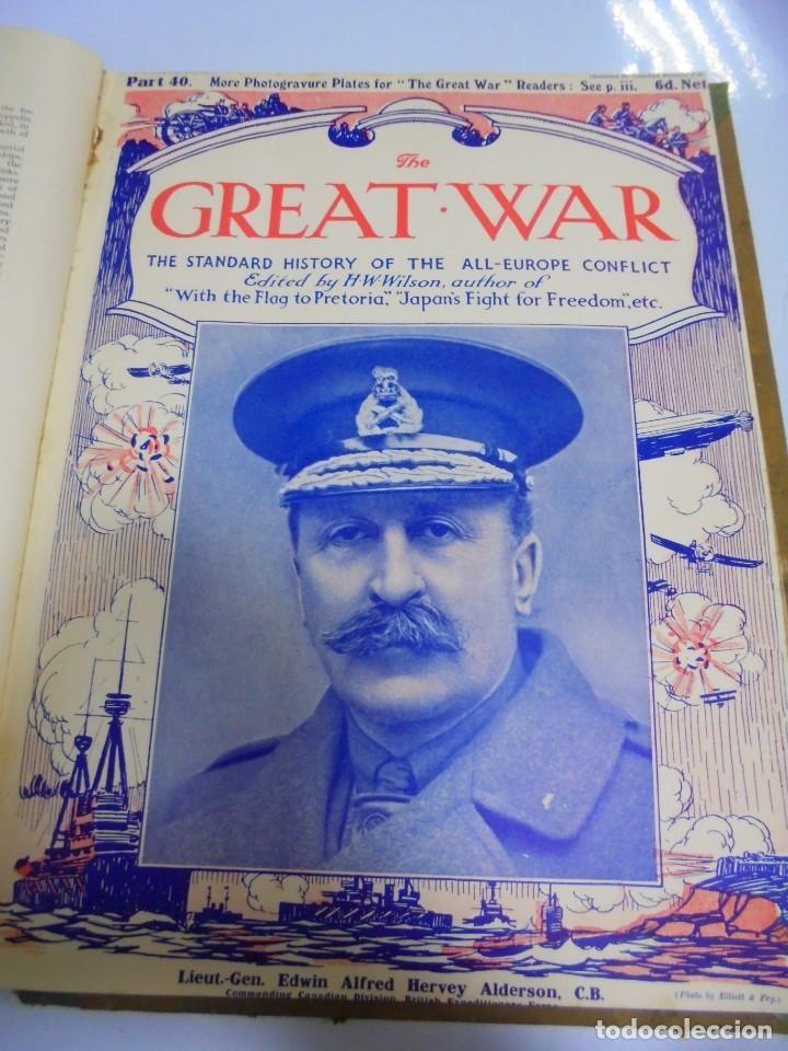 Militaria: THE GREAT WAR. 1915. H.W.WILSON. DEL Nº 33 A Nº 45. HISTORIA DEL CONFLICTO DE TODA EUROPA. VER FOTOS - Foto 9 - 149316242
