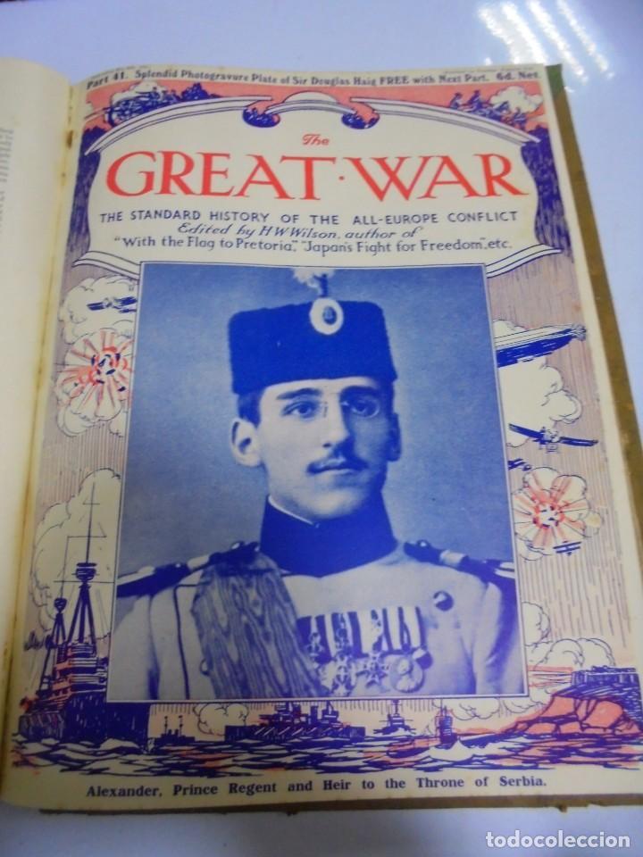 Militaria: THE GREAT WAR. 1915. H.W.WILSON. DEL Nº 33 A Nº 45. HISTORIA DEL CONFLICTO DE TODA EUROPA. VER FOTOS - Foto 10 - 149316242