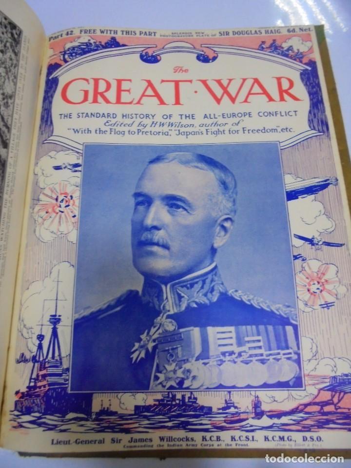 Militaria: THE GREAT WAR. 1915. H.W.WILSON. DEL Nº 33 A Nº 45. HISTORIA DEL CONFLICTO DE TODA EUROPA. VER FOTOS - Foto 11 - 149316242