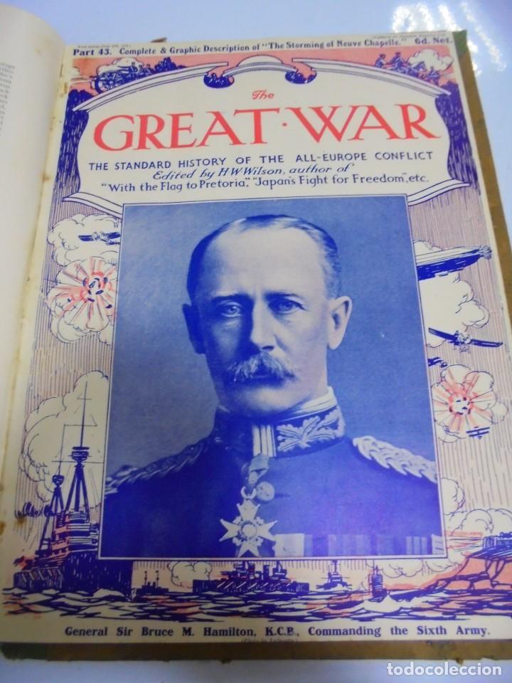 Militaria: THE GREAT WAR. 1915. H.W.WILSON. DEL Nº 33 A Nº 45. HISTORIA DEL CONFLICTO DE TODA EUROPA. VER FOTOS - Foto 12 - 149316242
