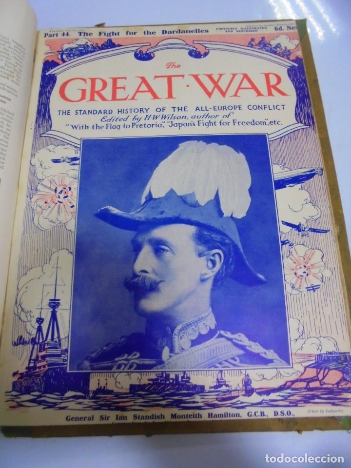 Militaria: THE GREAT WAR. 1915. H.W.WILSON. DEL Nº 33 A Nº 45. HISTORIA DEL CONFLICTO DE TODA EUROPA. VER FOTOS - Foto 13 - 149316242