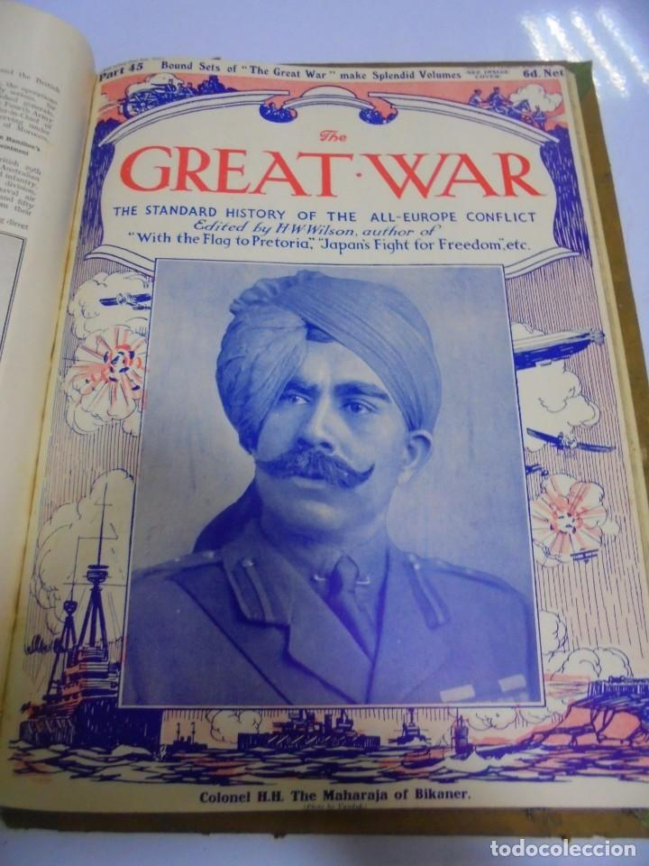 Militaria: THE GREAT WAR. 1915. H.W.WILSON. DEL Nº 33 A Nº 45. HISTORIA DEL CONFLICTO DE TODA EUROPA. VER FOTOS - Foto 14 - 149316242