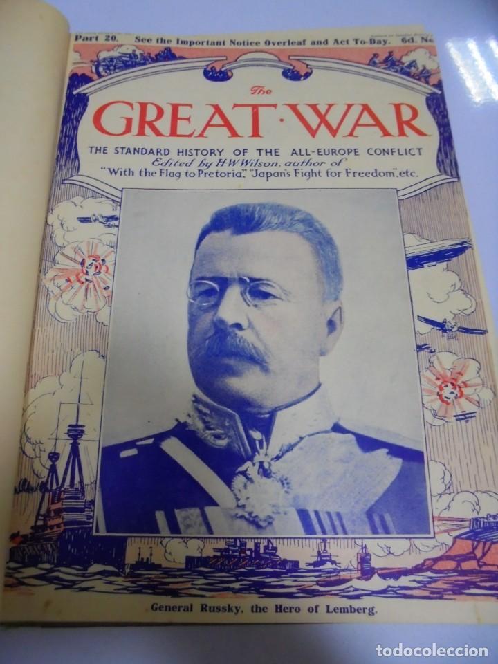 Militaria: THE GREAT WAR. 1915. H.W.WILSON. DEL Nº 20 A Nº 32. HISTORIA DEL CONFLICTO DE TODA EUROPA. VER - Foto 3 - 149318482