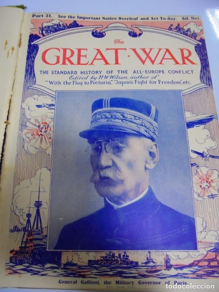 Militaria: THE GREAT WAR. 1915. H.W.WILSON. DEL Nº 20 A Nº 32. HISTORIA DEL CONFLICTO DE TODA EUROPA. VER - Foto 4 - 149318482