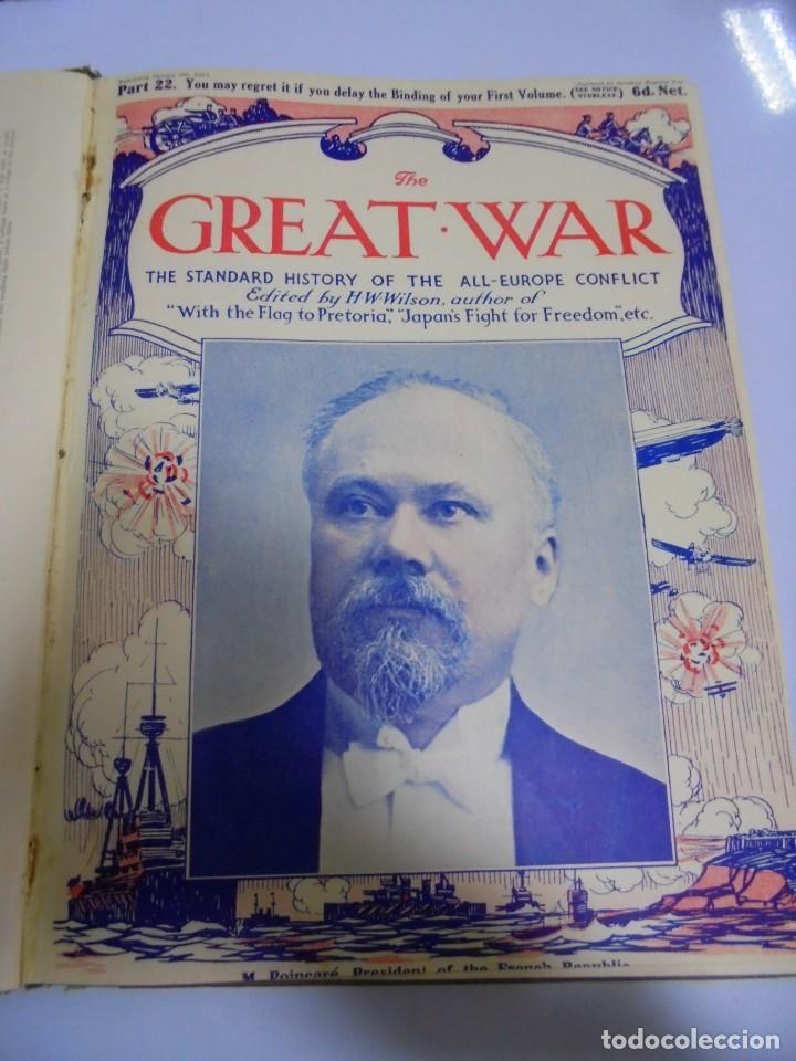 Militaria: THE GREAT WAR. 1915. H.W.WILSON. DEL Nº 20 A Nº 32. HISTORIA DEL CONFLICTO DE TODA EUROPA. VER - Foto 5 - 149318482