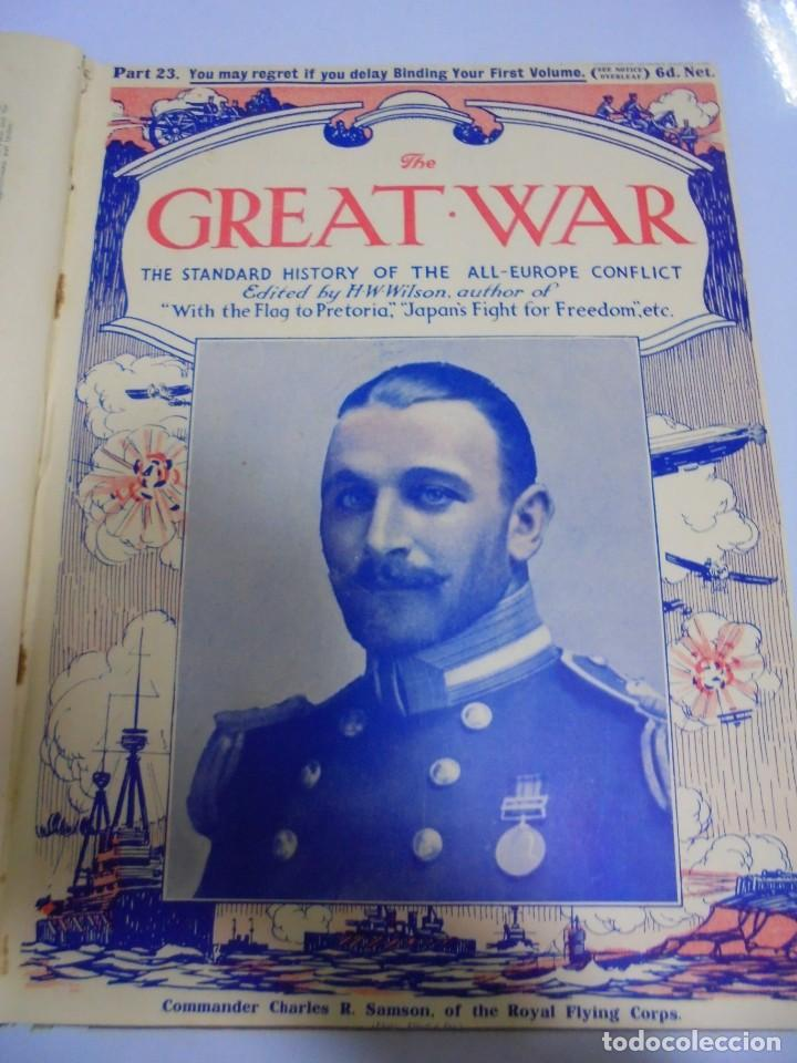 Militaria: THE GREAT WAR. 1915. H.W.WILSON. DEL Nº 20 A Nº 32. HISTORIA DEL CONFLICTO DE TODA EUROPA. VER - Foto 6 - 149318482