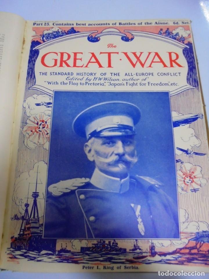 Militaria: THE GREAT WAR. 1915. H.W.WILSON. DEL Nº 20 A Nº 32. HISTORIA DEL CONFLICTO DE TODA EUROPA. VER - Foto 8 - 149318482
