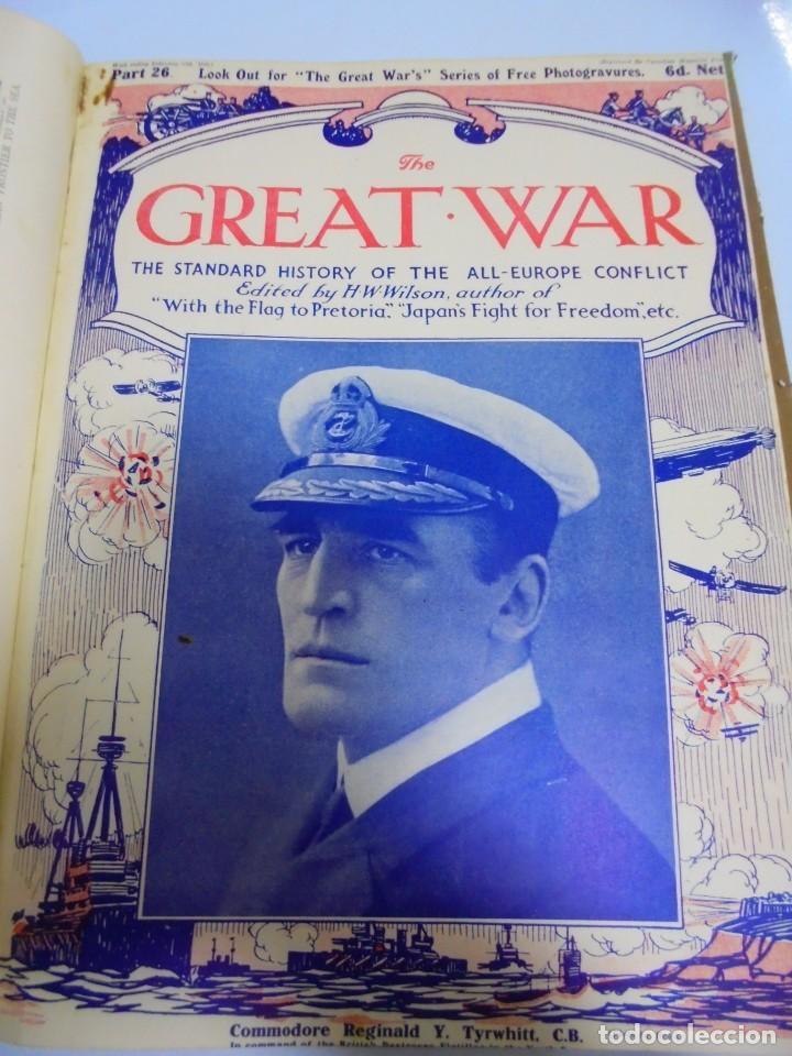 Militaria: THE GREAT WAR. 1915. H.W.WILSON. DEL Nº 20 A Nº 32. HISTORIA DEL CONFLICTO DE TODA EUROPA. VER - Foto 9 - 149318482