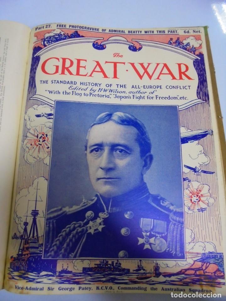 Militaria: THE GREAT WAR. 1915. H.W.WILSON. DEL Nº 20 A Nº 32. HISTORIA DEL CONFLICTO DE TODA EUROPA. VER - Foto 10 - 149318482