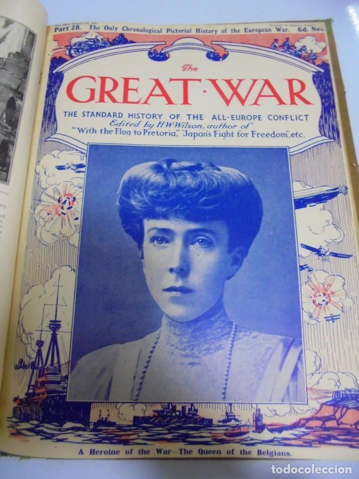 Militaria: THE GREAT WAR. 1915. H.W.WILSON. DEL Nº 20 A Nº 32. HISTORIA DEL CONFLICTO DE TODA EUROPA. VER - Foto 11 - 149318482